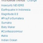 Gempa di Sumatra 11 April 2012